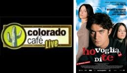 Federico Moccia a Colorado Cafè con la parodia di Ho Voglia di Te
