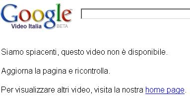 Google Video oscura Sex crimes and Vatican