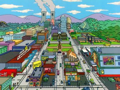 Simpson, alla ricerca di Springfield