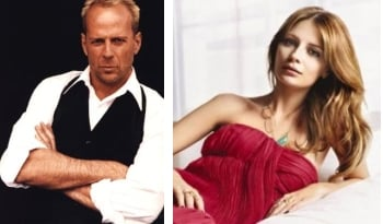 Mischa Barton in The Sophomore con Bruce Willis