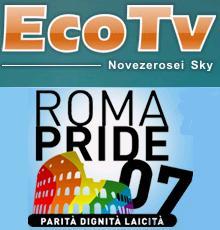 Il Gay Pride di Roma in diretta su EcoTv (anche online)