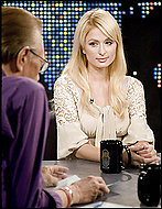 Paris Hilton al Larry King Live