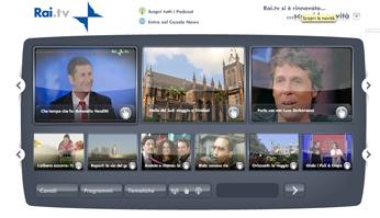 Rai.tv, i programmi Rai fruibili online