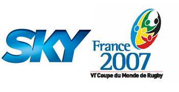 Spot Sky per i Mondiali di rugby Francia 2007, anteprima