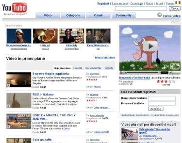 YouTube in italiano, RAI e La7 inaugurano i loro branded channel