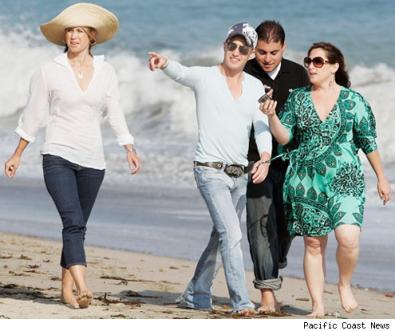 Lane Garrison, una passeggiata in spiaggia prima del processo