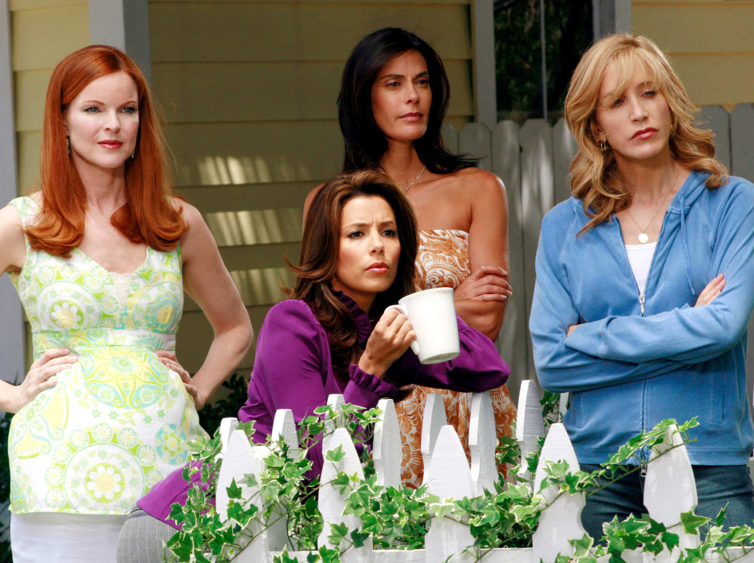 Teri Hatcher attrice in Resurrecting the Champ + il promo della quarta stagione di Desperate Housewives