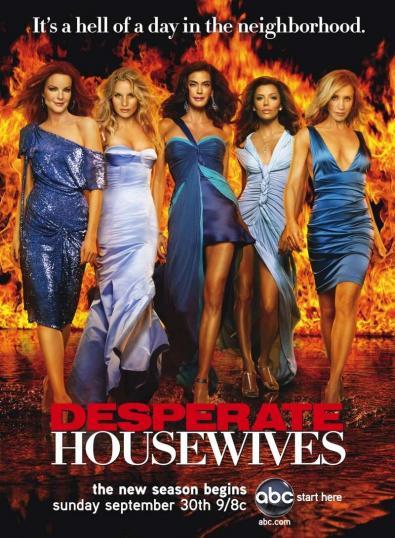 Desperate Housewives, locandina e promo della quarta stagione