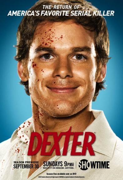 Dexter, la crime series della Showtime + video sub ita e poster della seconda stagione