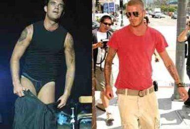 David Beckham e Robbie Williams in Desperate Housewives? Una boutade, secondo Tvsquad