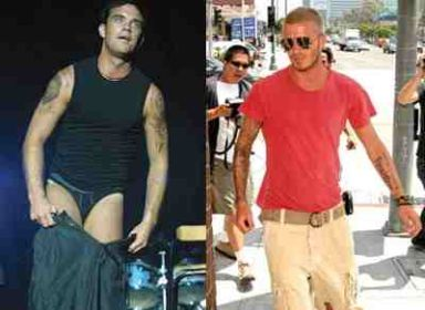 David Beckham e Robbie Williams in Desperate Housewives? Una boutade, secondo Tvsquad