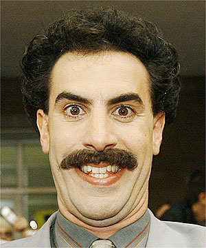 La Fox fa diventare Borat un poliziotto