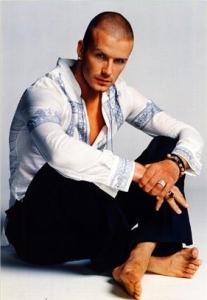 David Beckham dice no ai Simpson
