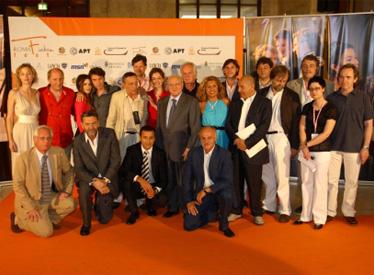 Il cast artistico e tecnico al Roma Fiction Fest