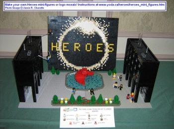 Fenomeno Heroes, parodie, gadget e Lego Art