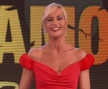 Simona Ventura pronta per la settima puntata dell'Isola dei Famosi