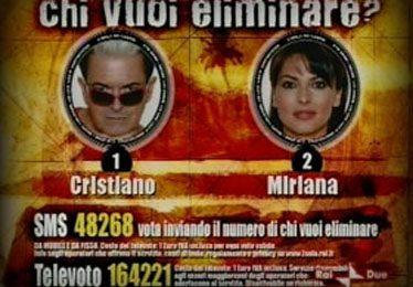 Cecchi Paone resta sull'Isola, ma Coco manda al televoto Malgioglio e Miriana
