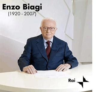 La Rai ricorda Enzo Biagi