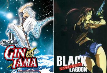 Gintama e Black Lagoon le nuove anime di Mtv