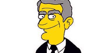 Gordon Brown dice 'no' ad un cameo nei Simpson