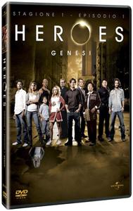 Heroes, la prima stagione in DVD