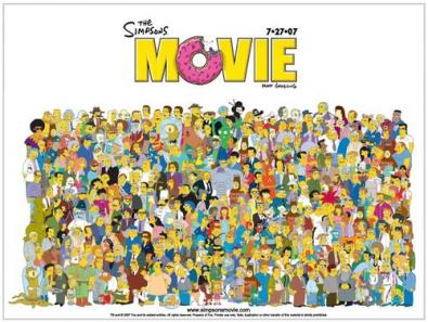 Mise The Simpson Movie in rete, condannato ventitrenne