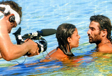 Sara Tommasi e Luca Calvani all'Isola dei Famosi 2006