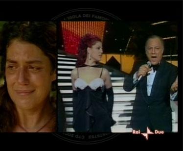 Il duetto tra Claudio e Manuela Villa