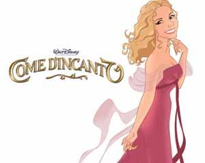 Antonella Clerici trasformata in cartoon dalla Disney