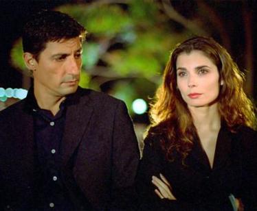 Emilio Solfrizzi e Chiara Muti