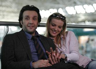 Flavio Insinna e Christiane Filangieri, la coppia di Ho Sposato uno Sbirro