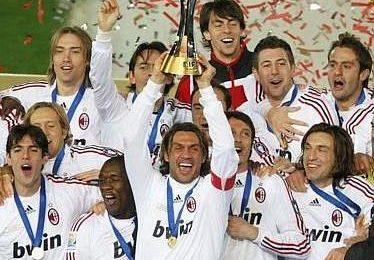 Il Milan è campione del mondo