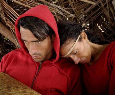 Karen e Vittorio sull'Isola