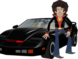 Knight Rider TurboBoost , Supercar in versione cartoon – video
