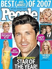 Patrick Dempsey stella dell'anno secondo People (+ promo della puntata 4×11 di Grey's anatomy)