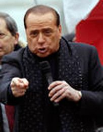 Sanremo 2009, Benigni e Berlusconi all'Ariston