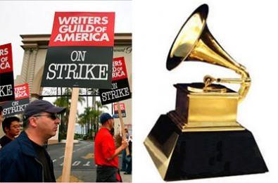 Sciopero degli sceneggiatori, anche i Grammys sono in pericolo