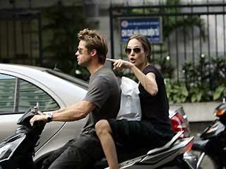 Ad Angelina piace farlo… sul set!