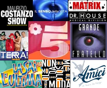 Canale 5 vuole strafare: poco spazio per troppi programmi. Il GF8 scalza Matrix dal lunedì