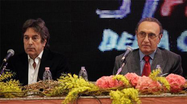 Del Noce e Baudo alla conferenza incriminata dello scorso anno