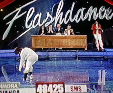 Il musical Flashdance per la squadra Bianca