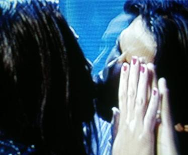 Il bacio tra Thiago e Benedetta