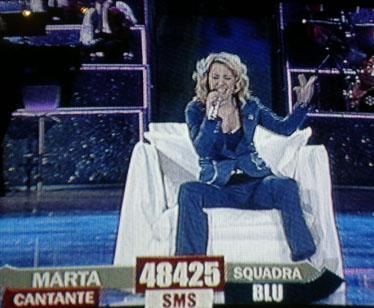 Marta nel guanto di sfida