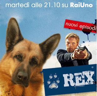 Il Commissario Rex: con Francesco Arca la serie sarà più action, da febbraio 2014 su Rai2
