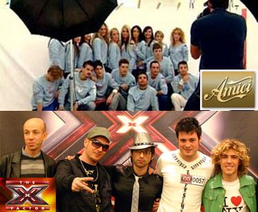 Amici e XFactor: la tv punta sui talenti