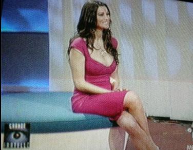 Manuela Arcuri al GF8