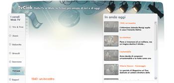 TvCiak, nuovo canale web dedicato alle fiction Rai