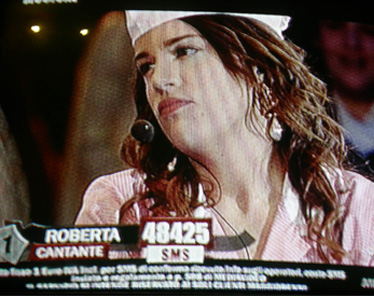 Roberta nel musical Blues Brothers