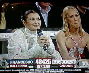 Carla Fracci e Alessandra Celentano