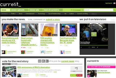 La versione italiana di Current, la tv di Al Gore, da maggio su Sky